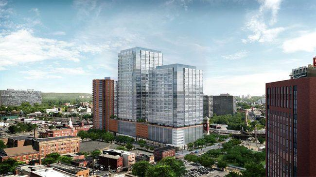 A pair of New York City developers are proposing a $1 billion mixed-used project to be located in the heart of Newark, N.J.