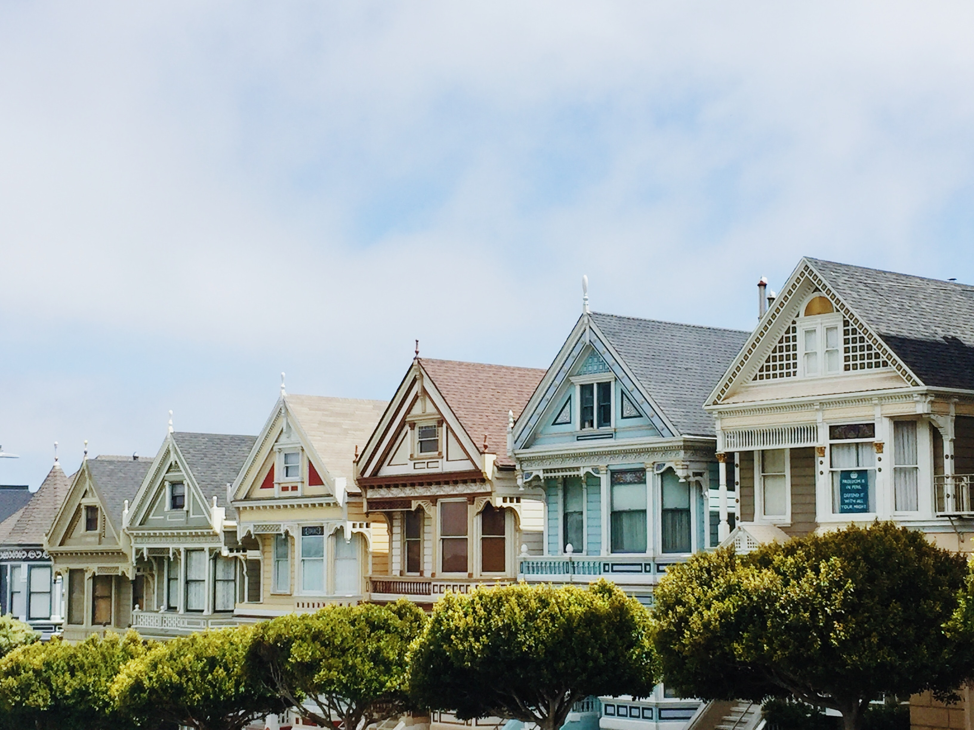 Assorted homes in San Francisco