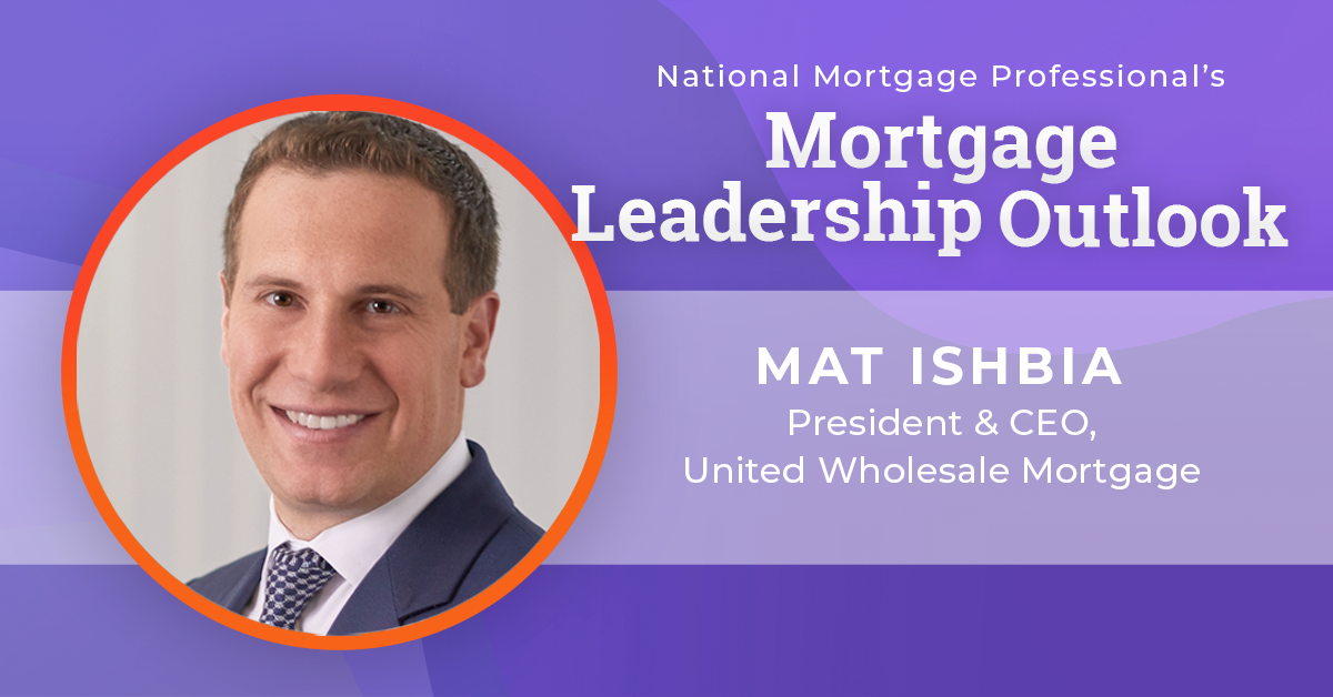 Mat Ishbia, president and CEO of United Wholesale Mortgage (UWM)